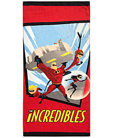 "Jay Franco The Incredibles Family Cotton 28"" x 58"" Beach Towel"
