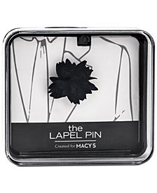 the GIFT Men's Flower Lapel Pin, Created for Macy's