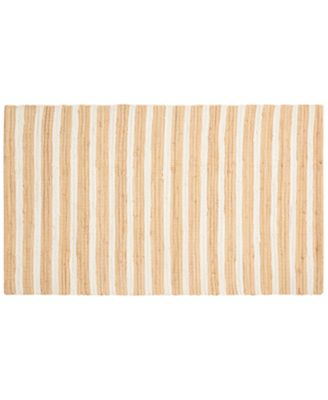 "Image of CLOSEOUT! Nourison Brunswick 24"" x 36"" Stripe Accent Rug"