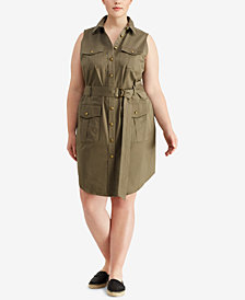 Lauren Ralph Lauren Plus Size Sleeveless Dress