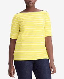 Lauren Ralph Lauren Plus Size Jersey Top