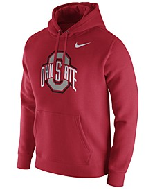 Men's Ohio State Buckeyes Cotton Club Fleece Hooded Sweatshirt