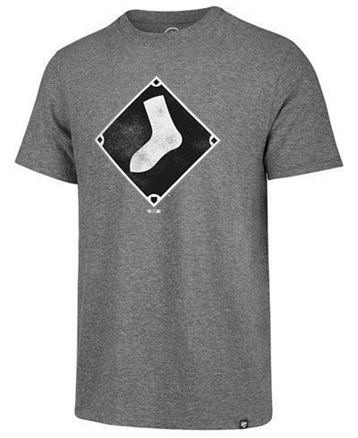 '47 Brand Men's Chicago White Sox Coop Triblend Match T-Shirt