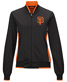 G-III Sports Women's San Francisco Giants Triple Track Jacket