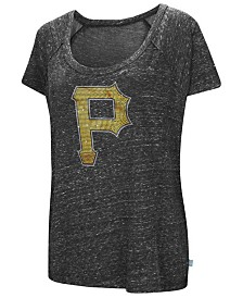 G-III Sports Women's Pittsburgh Pirates Outfielder T-Shirt