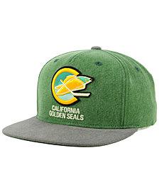CCM California Golden Seals 2Tone Snapback Cap