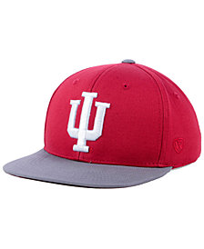 Top of the World Boys' Indiana Hoosiers Maverick Snapback Cap