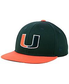 Boys' Miami Hurricanes Maverick Snapback Cap
