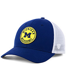 Top of the World Michigan Wolverines Coin Trucker Cap