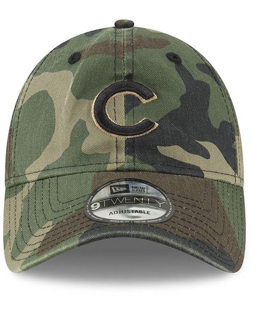 huge discount bed75 42e2e ... New Era Chicago Cubs Camo Core Classic 9TWENTY Cap ...