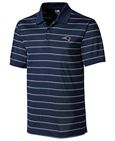 Cutter & Buck Men's New England Patriots Venture Stripe Polo