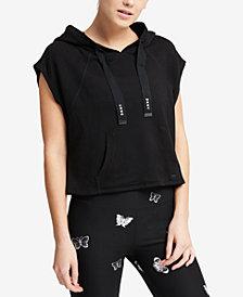 DKNY Sport Sleeveless Cropped Hoodie