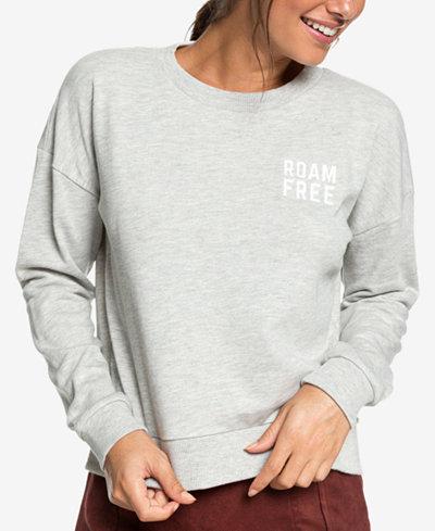 Roxy Juniors' Scene Shifter Graphic-Print Sweatshirt