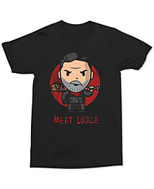 Negan Meet Lucille Sketch Men's Graphic T-Shirt by Changes