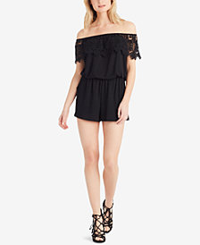 Jessica Simpson Off-The-Shoulder Romper