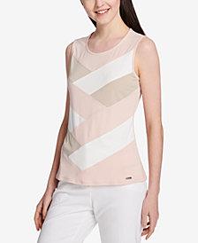 Calvin Klein Colorblocked Tank Top