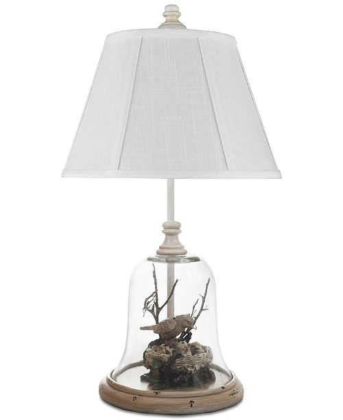 AHS Lighting Birds In Cloche Accent Lamp