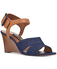 Nine West Vahan Wedge Sandals