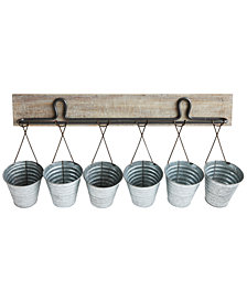 Buckets Wall Hanging