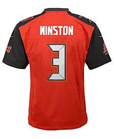 Nike Jameis Winston Tampa Bay Buccaneers Limited Team Jersey, Big Boys (8-20)