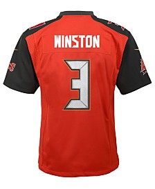 Nike Jameis Winston Tampa Bay Buccaneers Limited Team Jersey, Big Boys (8-20)