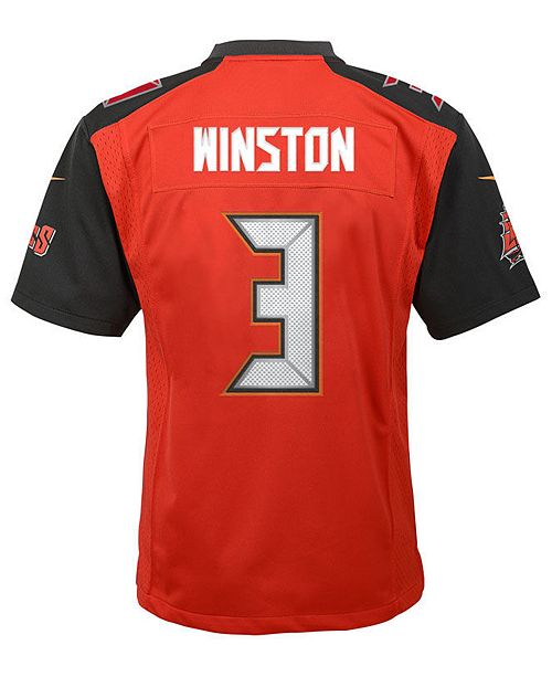 Nike Jameis Winston Tampa Bay Buccaneers Limited Team Jersey 88476e6ba