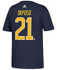 adidas Men's Kyle Okposo Buffalo Sabres Silver Player T-Shirt