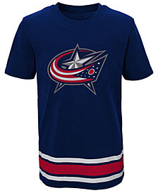 Outerstuff Columbus Blue Jackets Captain T-Shirt, Big Boys (8-20)