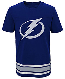Outerstuff Tampa Bay Lightning Captain T-Shirt, Big Boys (8-20)