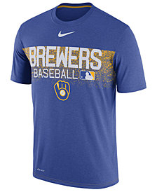Nike Men's Milwaukee Brewers Authentic Legend Team Issue T-Shirt