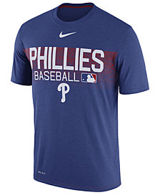 Nike Men's Philadelphia Phillies Authentic Legend Team Issue T-Shirt