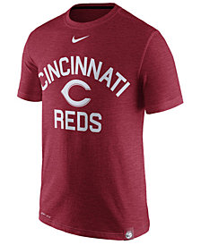 Nike Men's Cincinnati Reds Dri-Fit Slub Arch T-Shirt