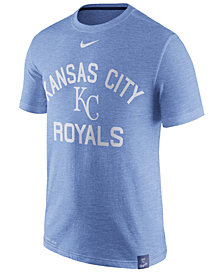 Nike Men's Kansas City Royals Dri-Fit Slub Arch T-Shirt