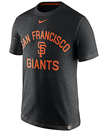 Nike Men's San Francisco Giants Dri-Fit Slub Arch T-Shirt