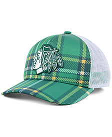 adidas Chicago Blackhawks St. Patrick's Day Adjustable Cap