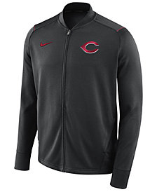 Nike Men's Cincinnati Reds Dry Knit Track Jacket