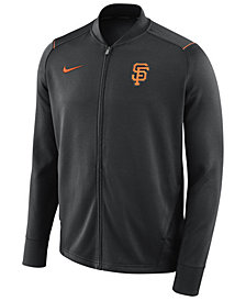 Nike Men's San Francisco Giants Dry Knit Track Jacket