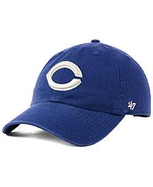 '47 Brand Cincinnati Reds Timber Blue CLEAN UP Cap