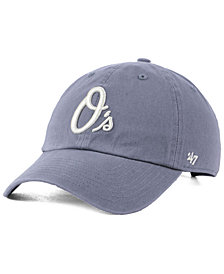 '47 Brand Baltimore Orioles Dark Gray CLEAN UP Cap