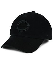 Cincinnati Reds Black on Black CLEAN UP Cap