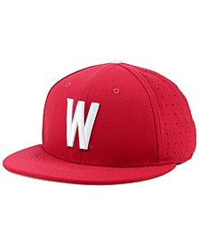 Washington State Cougars Aerobill True Fitted Baseball Cap