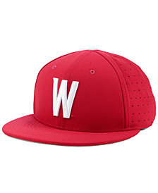 Nike Washington State Cougars Aerobill True Fitted Baseball Cap