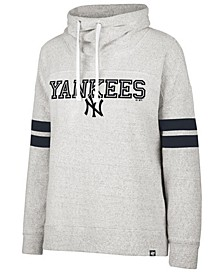 Women's New York Yankees French Terry Funnel Hoodie