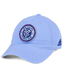 adidas New York City FC Sand Blast Adjustable Cap