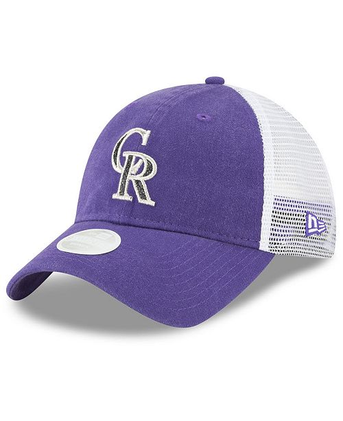 d7afb6543ae ireland new era colorado rockies trucker shine 9twenty cap sports fan fac47  e694b