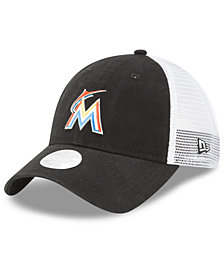 New Era Miami Marlins Trucker Shine 9TWENTY Cap