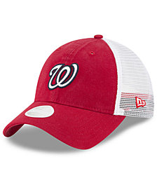 New Era Washington Nationals Trucker Shine 9TWENTY Cap