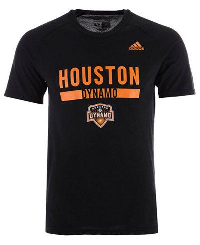 adidas Men's Houston Dynamo Utility Work T-Shirt