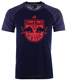 adidas Men's New York Red Bulls Redirection Logo T-Shirt