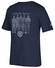 adidas Men's New York City FC The Wall T-Shirt